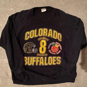Vintage Colorado Buffaloes Sweatshirt